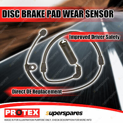 Protex Front Disc Brake Pad Wear Sensor For BMW 316 318 320 323 325 328 330 E46