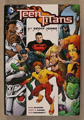 Teen Titans Omnibus HC (DC Comics) By Geoff Johns #1-1ST 2013 FN 6.0