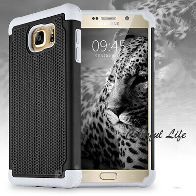 For Samsung Galaxy Note 5 Hybrid ShockProof Rugged Hard Armor Rubber Case Cover