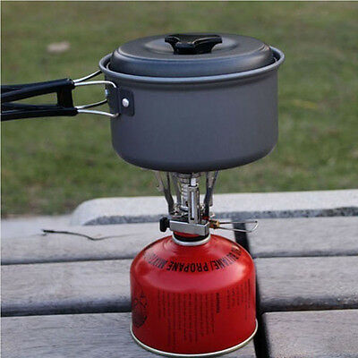 Portable Foldable Camping Hiking Camping Gas Burner Steel Stove Outdoor Picnic
