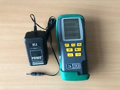 Kane 400 combustion Flue Gas Analyser No calibration SN 111501109