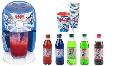 Slush Puppie Machine Frozen Ice Slushie Drink Maker Home Slushy Puppy Syrup ND