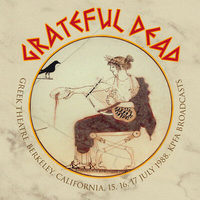 GRATEFUL DEAD  - Greek Theatre, 15,16,17 July 1988 (6CD Ltd Edition Box Set)