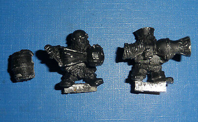 Citadel Games Workshop Warhammer Dwarf Fire Thrower oop