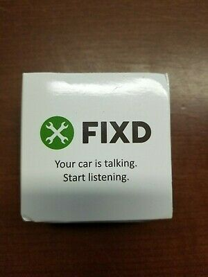 New FIXD OBD-II 2nd Generation Active Car Health Monitor 723120297388
