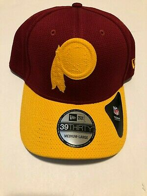 los angeles bddd7 3c074 New Washington Redskins New Era 39Thirty Logo Surge Hat Cap M L