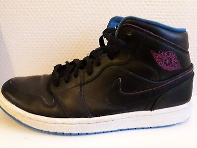 Montantes Basket Nike Air Jordan 1 Be Mid 8 Noires 42 5 Chaussures Us 34RjAL5q