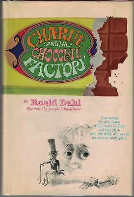 Roald DAHL / Charlie & the Chocolate Factory Illustrated 1964 1st ed