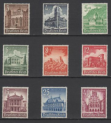 WWII Third Reich 1940  Winter Relief Fund WHW. Full Set MNH Luxe €40.