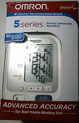 Omron 5 Series Blood Pressure Monitor Advanced Accuracy - New