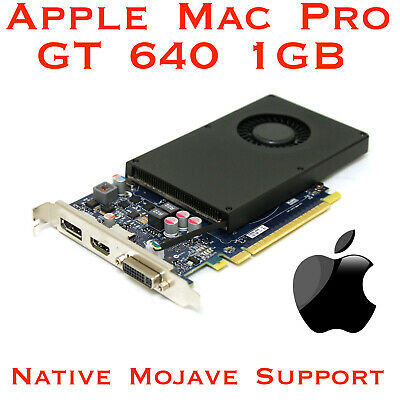  NVIDIA GT 640 1GB Apple Mac Pro - Native Mojave support - In