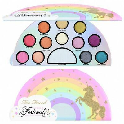 NIB TOO FACED Life's a Festival Limited Edition Eye Shadow Palette ~ Authentic