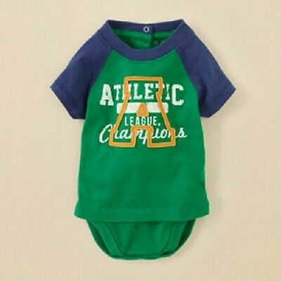 The Childrens Place 2 Pieces in 1 Athletic Tee and Bodysuit ~ New With Tags