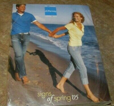 03c6aa3dab577 2005 JC Penney Catalog Spring Fashion Home Decor New Sealed Plastic Mailer