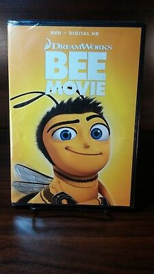Dreamwork's Bee Movie 2007(DVD)-Disc not used-No Digital code-Free Shipping