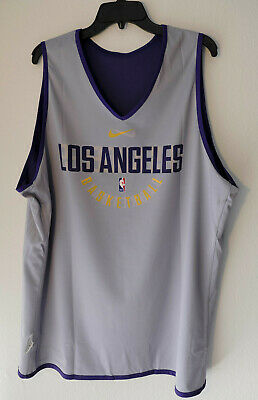 4296298dee4 NBA NIKE LOS Angeles Lakers L S Adult Mens 3XL Hoodie T-shirt BNWT ...