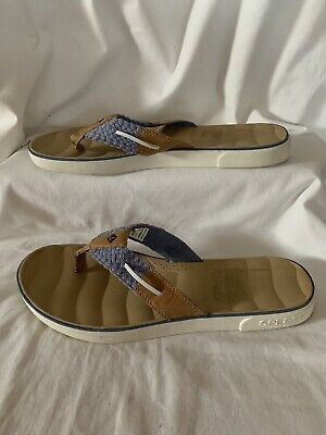 dadc44b535a4ce Sperry Women s Top Sider 60304 Thong Seabrook Surf Flip Flop Sandal Size ...