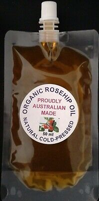 *Cheapest* Rosehip Oil, 50 Ml Virgin Organic Oil, Cold Pressed, Free Postage