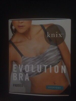 1f45126ee260c Knixwear 8-in-1 PADDED Evolution Bra Reversible Grey Black  various sizes