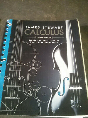 Single Variable Calculus Early Transcendentals by James Stewart