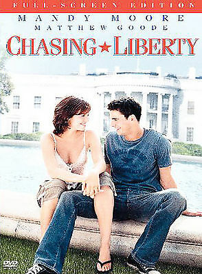 Chasing Liberty (DVD, 2004, Full-Screen) Mandy Moore Jeremy Piven The Roots