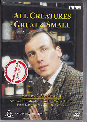 All Creatures Great & Small, Series 2, Vol 1, BBC (DVD, Region 4, 3/Disc PROMO)