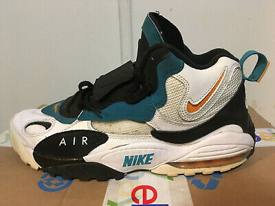 9a66075a0a19 Nike Air Max Speed Turf Miami Dolphins Dan Marino 525225-100 Size 9.5 F943K