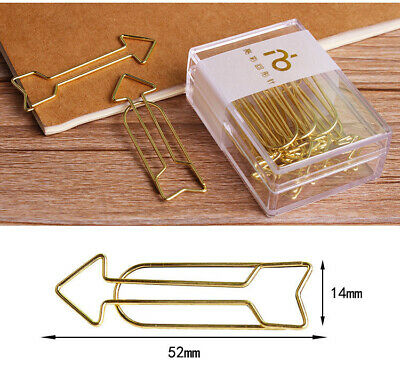 Arrow Page Marker Stationery Bookmark Journal Office School Supplies Paper Clips