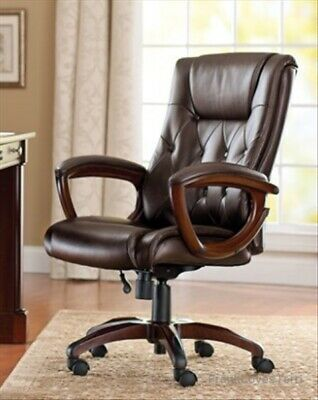 Groovy Leather Executive Desk Chair Office High Back Rolling Ncnpc Chair Design For Home Ncnpcorg