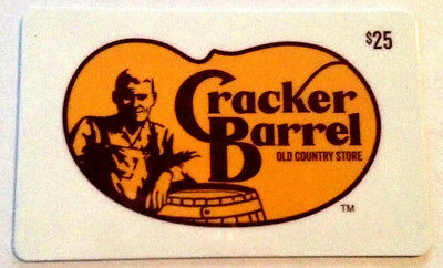 Cracker Barrel Old Country Store Collectible Gift Card --0--Value Rechargeable