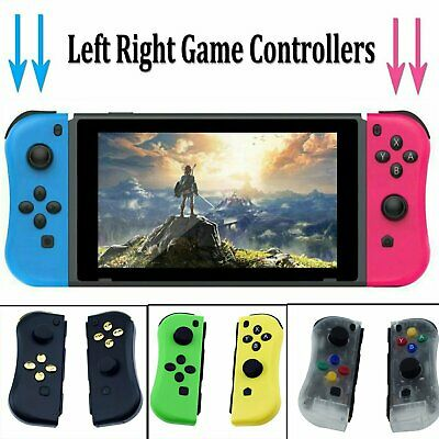 Left & Right Joy-Con Game Controllers Handle Grip for Nintendo Switch Console