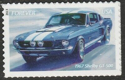 US 4745 Muscle Cars 1967 Shelby GT-500 forever MNH 2013