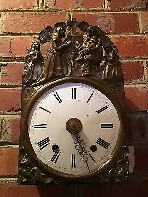 Vintage Antique French Wall Clock