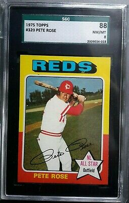 1963 Topps Baseball Pete Rose Rookie Card Rc Sgc 5 Rookie