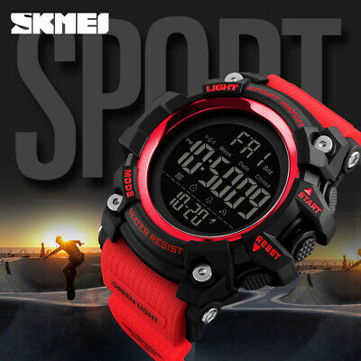 SKMEI Mens Smart Multi-function Calendar Watches Fashion Digital Wristwatch 1384