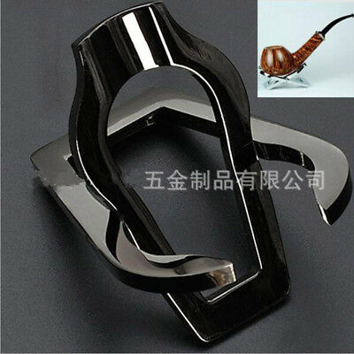 High Quality Stainless Steel Foldable Pocket Tobacco Pipe Holder Stand Rack