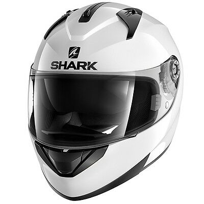 Shark Ridill Blank WHU Full Face Moto Motorcycle Motorbike Helmet All Sizes