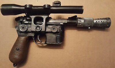 Star Wars Han Solo ANH DL-44 Blaster pistol PROP REPLICA Extremly Accurate