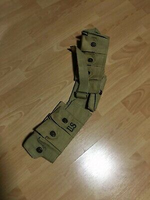 World War 2 Style M1 Ammo Garand Cartridge Ammo Belt - Brand New