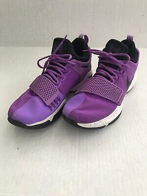 more photos 1df8d 71901 Nike PG 1 Paul George Purple Black White Basketball Shoes  13 878627-500  Mens