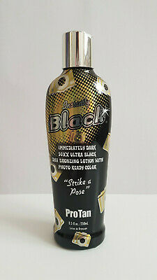 PRO TAN SATURNIA - INSTANTLY BLACK - SUNBED TANNING LOTION CREAM - 250ml BOTTLE