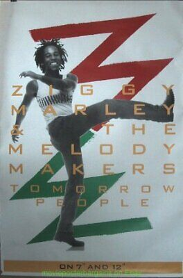 Ziggy Marley TOMORROW PEOPLE Concious Party Album Promo POSTER UK Subway 3x5 ft