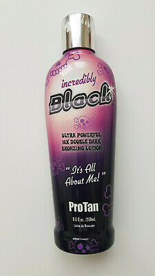 PRO TAN SATURNIA - INCREDIBLY BLACK - SUNBED TAN TANNING LOTION CREAM - 250ml