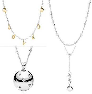 Silver Moments Necklace Moon And Stars Moments LOVED Necklace String Of Beads