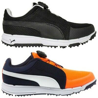 4a88be7771bfc3 Puma Junior Grip Sport Disc Golf Shoes Kids Boys Girls Spikeless SmartQuill