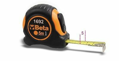 Beta Tools 1692/5 5m Tape Measure Shock-Resistant ABS Casings Steel Tape