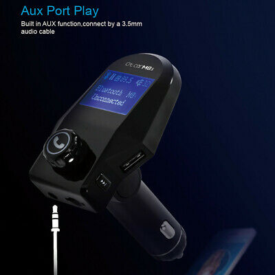 Wireless MP3 Player FM Transmitter Bluetooth Car Kit Radio Adapter USB Charger