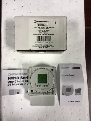 Electronic Timer, Intermatic, FM1D50A-24