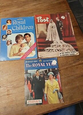 1953 POST & WOMENS OWN SOUVENIR  magazines, WOMENS WEEKLY Royal Childrens book
