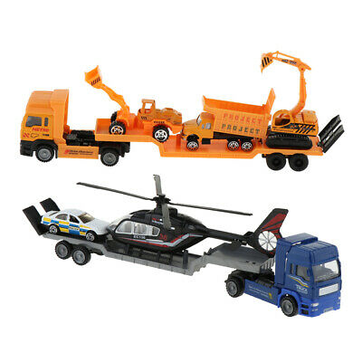Carrier Truck Toy Car Transporter with Wheels Toy Cars Toys for Boys & Girls
